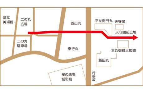 ※天守閣内部に入ることはできません ※特別公開に伴い熊本城周辺では交通混雑が予想されます。見学にお越しの際は、時間に余裕を持っての来場と公共交通機関のご利用をお願いします。