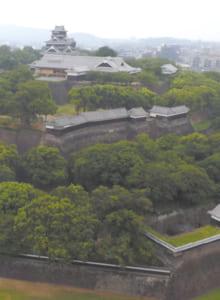 熊本地震被災前の熊本城