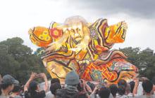 画像:熊本復興ねぶた