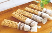 画像:おうちでCOOK – 食感が楽しいシリアルおやつ 玄米フレークバー