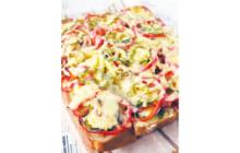 画像:おうちでCOOK – 天板パンピザ