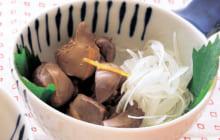 画像:美味しいレシピ お正月特別編 – 鶏レバーの醤油漬け