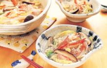 画像:おうちでCOOK – 缶詰とかまぼこでお手軽に 白菜と春雨のカニ鍋風