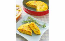 画像:美味しいレシピ vol.254 – 春野菜のオープンオムレツ