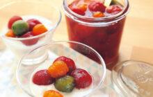 画像:おうちでCOOK – フルーツのように甘くて爽やか! ミニトマトのみりん漬け