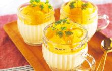 画像:おうちでCOOK – 酸味とコクが爽やかに広がる オレンジレアチーズ