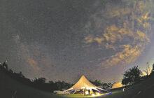 画像:流星群や火星大接近を見よう 吉無田高原「天体観測会」