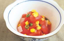 画像:おうちでCOOK – 清涼感漂う夏メニュー ショウガ風味のトマトサラダ