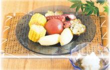 画像:夏野菜とタコの「冷んやりおでん」