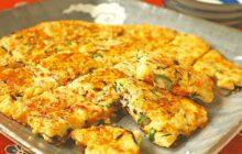 画像:おうちでCOOK – 栄養バランスの取れたお手軽な一品 おからと乾物のチヂミ