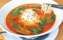 画像:【541号】麺's すぱいす – 今年5月オープン、幅広い層に人気 とまとラーメン専門店 red(れっど)