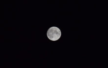 画像:中秋の名月の話。