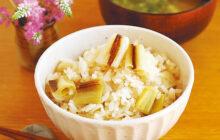 画像:おうちでCOOK – 長ネギの甘みでご飯がすすむ 長ネギの炊き込みご飯