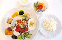 画像:【しあわせごはん】野菜たっぷり! 体に優しい日替わりランチ