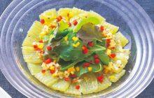 画像:美味しいレシピ vol.261 – こんにゃくのカルパッチョ