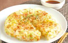 画像:おうちでCOOK – 野菜がたっぷり取れるお手軽な一品 米粉でとろ~りおやき
