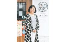 画像:【569号】すてきびと – 乳がんケア用品のセレクトショップ「AIM(アイム)」代表 西口 富士乃さん
