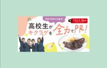 画像:【572号】すぱいすフォーカス – 目指せ熊本の名産品! 高校生がキクラゲを全力でPR!