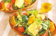 画像:おうちでCOOK – 栄養バランスも食べ応えも満点の一皿 たまごパンサラダ