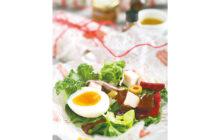 画像:市販品で手軽に!初夏の小包サラダ