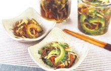 画像:おうちでCOOK – イカや昆布のうま味もたっぷり 松前風ゴーヤーの酢漬け