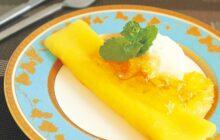 画像:おうちでCOOK – もっちり食感のお手軽スイーツ フルーツクレープ
